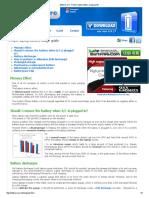 BatteryCare - Proper Laptop Battery Usage Guide