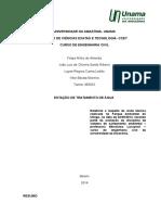 Relatório utinga 2