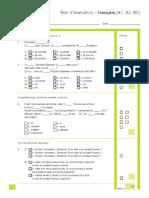 Test d'Evaluation Francais A1 - B1.PDF