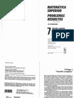 (AntiDemidóvich) Demidóvich-AntiDemidóvich. Matemática Superior. Problemas Resueltos. Variable Compleja_ Residuos y Temas Especiales. T.7-URSS (2000)