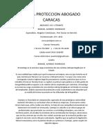 Lopna Proteccion Abogado Caracas