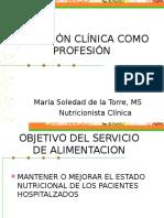 Nutricion Clinica Como Profesion
