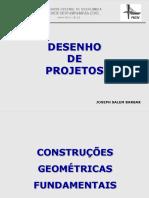 Aula 2- Desenho de Projetos - Construções Geométricas Fundamentais