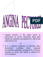 Angina Pectoris Oral Surgery 1111