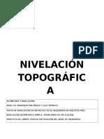 Monografía de Nivelacion