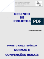 Projeto Arquitetônico - Normas e Convenções Usuais