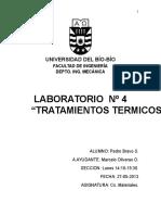 Informe Lab. 4 Tratamientos Termicos