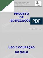 Aula 5 - Projeto de Edificações - Uso e Ocupação Do Solo
