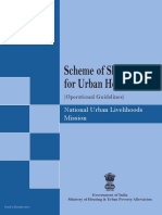Scheme of Shelters for Urban Homeless, 2013