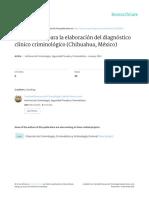 Guía Para La Elaboración de Diagnóstico Clínico