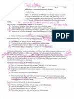 paragraph structure annotated test
