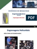 Desenho de Maquinas - Aula XIII -Engrenagens II - Alunos