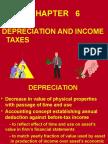 Depreciation & Income Tax