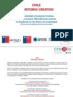 Create, Programa Chile Territorio Creativo