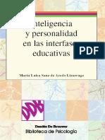 Inteligencia y Personalidad en Las Interfases Educativas