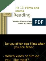 123tailieu.com Unit 13 Reading Film and Cinema