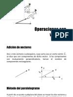 Operaciones Con Vecotres