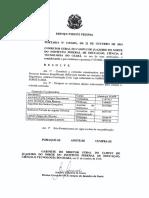 Portaria Da Comissão Coordenadora Para Realização Do PSS