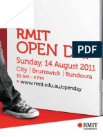 RMIT University Open Day Guide 2011