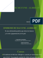 sindrome de mccune  albright