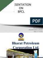 Presentation on BPCL