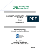 MANUAL DE TRANSFORMADORES Y REACTORES DE POTENCIA