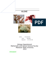 Kinds of Algae