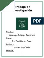 Sweet and Coffee