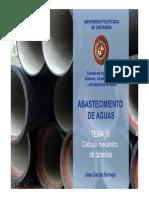 ABASTECIMIENTO DE AGUA Tema_16_CALCULOS_MECANICOS_TUBERIAS.pdf