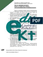Consejos Dc3ada Examen Escrito