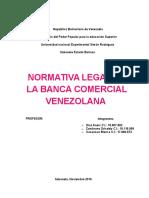 Marco Legal Dentro Del Cual Actuan Los Bancos Comerciales Venezolanas