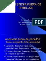 Anestesia Fuera de Pabellon