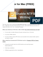 NTFS Driver for Mac