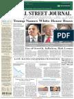 The Wall Street Journal November 14 2016