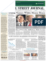 The Wall Street Journal November 14 2016