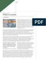 O Fisco e a Moeda _ Valor Econômico