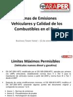 LMPs y Calidad de Combustibles en El Perú