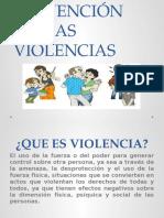 Prevención de Las Violencias