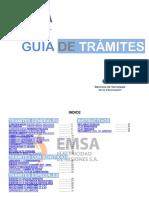 Guia de Tramites -Emsa