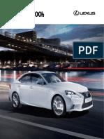 AF LEXUS is Model Brochure 2015mko SP Hybrid WEB LR Tcm-3071-582103