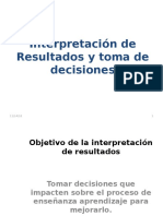 Interpretacion de Resultados y Toma de Decisiones