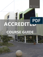 AIQS Accredited Course Guide - Updated March 2016