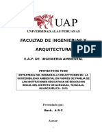 Modelo de Proyecto de Tesis UAP