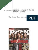 Detailed Magazine Analysis of Classic Rock Magazine