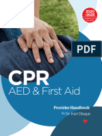 CPR, AED and First Aid Provider Handbook