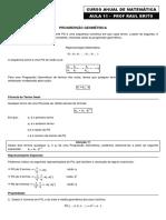 Aula 11 - Progressão Geométrica.pdf