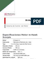 Motor m Hawk Mahindra
