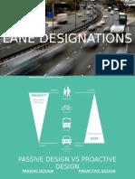Lane Designations