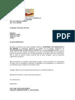 Confirmación Enviadas de Cuenta Por Cobrar Clientes B1 1-1