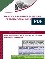 servicios financieros en matria del consumidopr